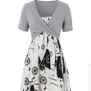 Rosegal dress and shrug, 1X